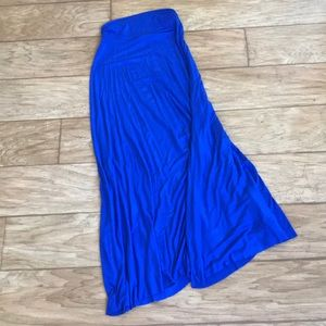 {Renee C}❄️Royal blue maxi skirt